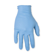 Blue Latex Gloves Large