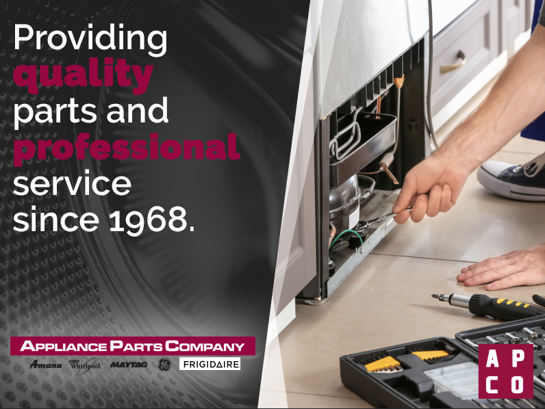 Appliance Parts Company | Repair and Replacement Appliance Parts on